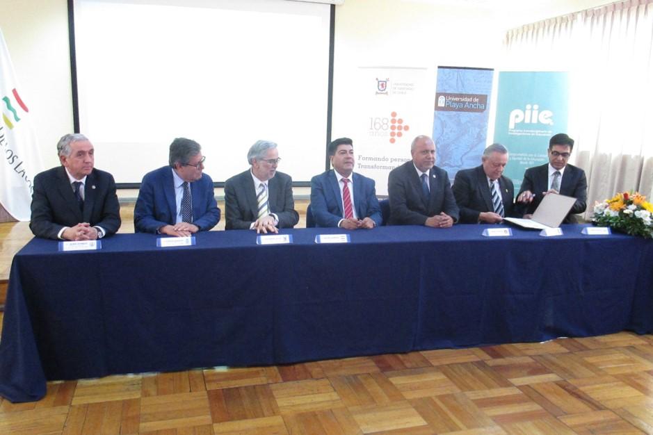 Rectores de universidades del Estado firman convenio que crea el Instituto Interuniversitario de Investigación Educativa IESED-Chile